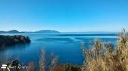 Isola d'Elba e Corsica viste da Cala Moresca
