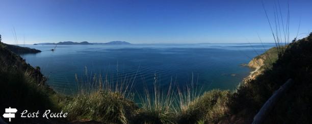 Panoramica di Isola d'Elba, Corsica e Capraia