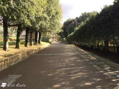 Ingresso a Castelfalfi