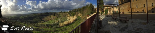 Panoramica terrazza Belvedere