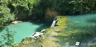 Cascata del Diborrato, fiume Elsa
