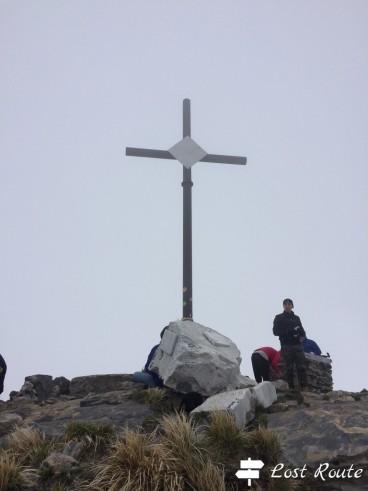 Croce sulla vetta del Sagro