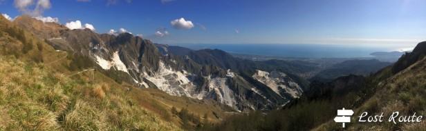 Dal Sagro al mare di Marina di Carrara