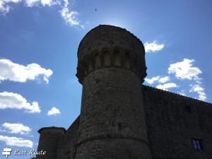Una torre del Castello di Meleto