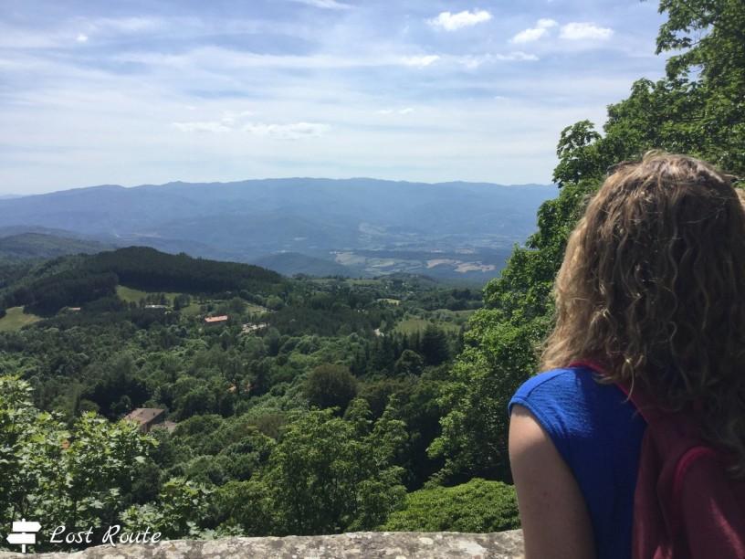 Vista dal Quadrante della Verna