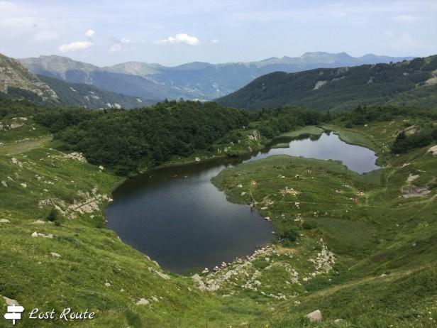 Il Lago Nero, Appennino Pistoiese