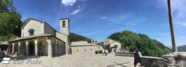 Il Quadrante, piazza principale Santuario della Verna