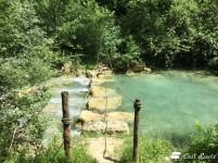 Attraversamento sul fiume Elsa