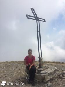 Chiara alla Croce sul Monte Sumbra, 1765m