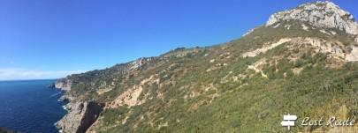 Dalla Torre di Capo d'Uomo al mare, Monte Argentario