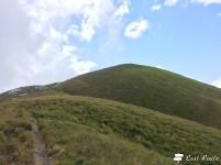 L'ultimo tratto verso la vetta del Monte Sumbra