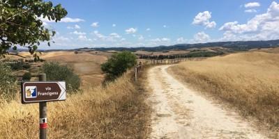 via Francigena, tappa 30 San Miniato Alto - Gambassi Terme, Toscana