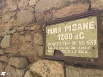 Le mura pisane di Giglio Castello