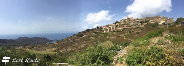 Panoramica di Giglio Castello