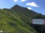 Balzi dell'Ora, sentiero per escursionisti esperti sul versante orientale