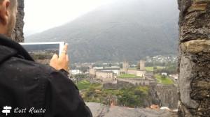 Castelgrande visto da Montebello, Bellinzona, Grand Tour of Switzerland by LostRoute