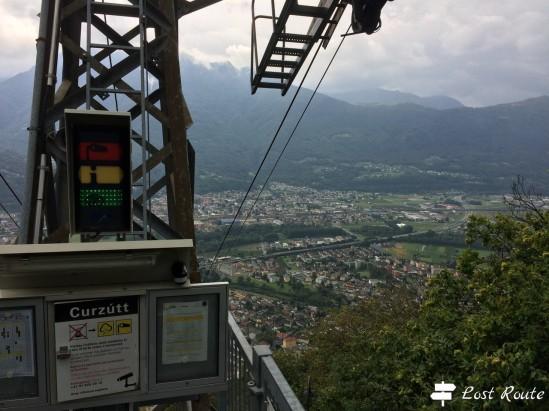 Funicolare Curzùtt, Monte Carasso, Ticino, Grand Tour of Switzerland