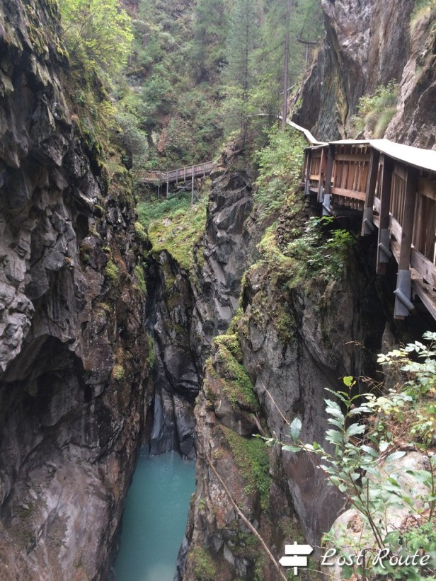 Gola del Gorner, camminamenti, Zermatt