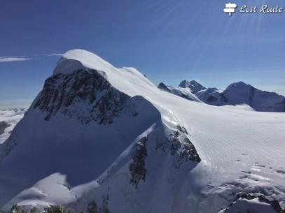 Il Breithorn, 4164 metri