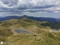 Il Lago Scaffaiolo e il Rifugio Duca degli Abruzzi