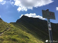 Inizio del sentiero per escursionisti esperti, i Balzi dell'Ora