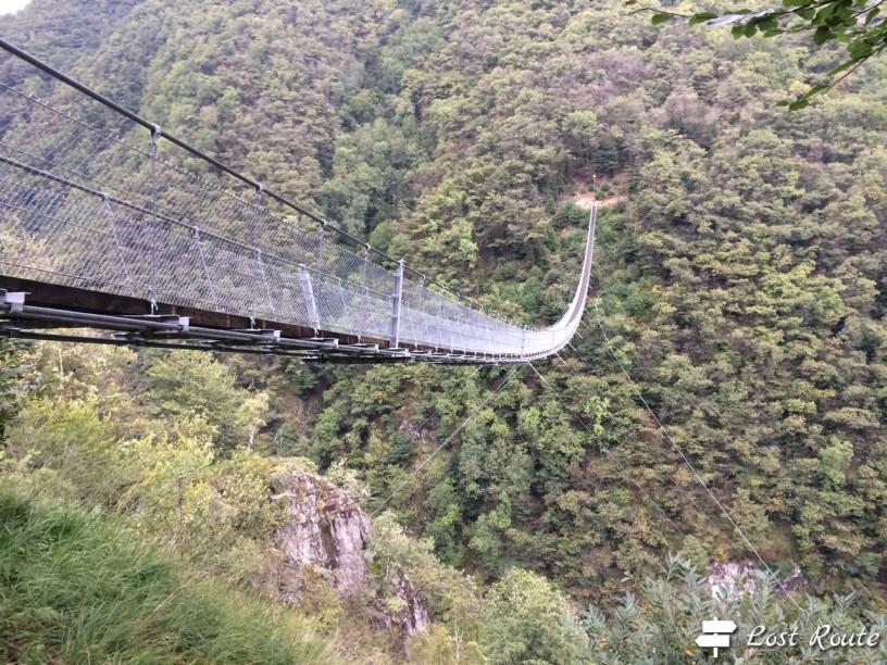 Ponte Tibetano Carasc, Monte Carasso, Grand Tour of Switzerland by LostRoute
