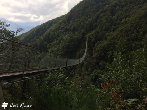 Ponte Tibetano Carasc, Monte Carasso, Ticino, Grand Tour of Switzerland