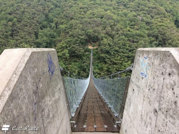 Ponte Tibetano Carasc, Monte Carasso, Ticino, Grand Tour of Switzerland