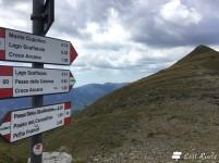 Verso il monte Cupolino, lungo il sentiero CAI 00