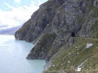 I tunnel intorno al Lago di Dix, Diga Dixence, Valais, Grand Tour of Switzerland