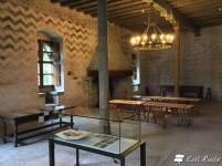 La Domus Clericorum del Castello di Chillon, Veytaux, Grand Tour of Switzerland