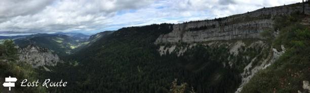 Panoramica del Creux du Van, Grand Tour of Switzerland