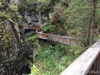 Passerella lungo la Gorner Gorge, Zermatt, Valais, Grand Tour of Switzerland #1
