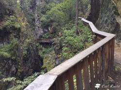 Passerella lungo la Gorner Gorge, Zermatt, Valais, Grand Tour of Switzerland #2