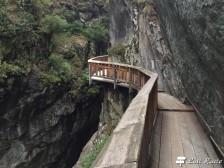 Passerella lungo la Gorner Gorge, Zermatt, Valais, Grand Tour of Switzerland #3
