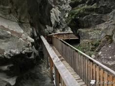 Passerella lungo la Gorner Gorge, Zermatt, Valais, Grand Tour of Switzerland #5