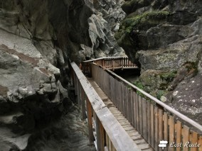 Passerella lungo la Gorner Gorge, Zermatt, Valais, Grand Tour of Switzerland #5