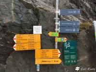 Sentieri escursionistici che partono dal coronamento della Diga Dixence, Valais, Grand Tour of Switzerland