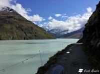 Una passeggiata intorno al Lago di Dix, Valais, Grand Tour of Switzerland