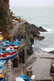 Barche alla Marina di Corniglia, Cinque Terre, Liguria