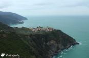 Corniglia e Manarola sullo sfondo, Cinque Terre, Liguria
