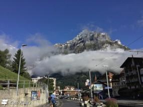 La stazione, con vista sul Mattenberg, Grindelwald, Berna, Grand Tour of Switzerland