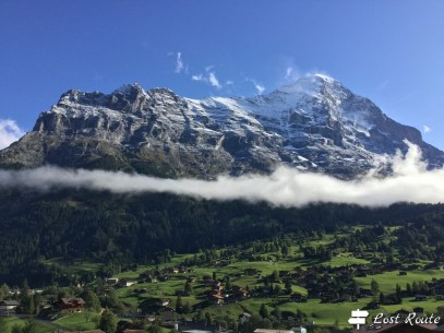 La vallata sotto all'Eiger, 3967 mt, Grindelwald, Berna, Grand Tour of Switzerland #1