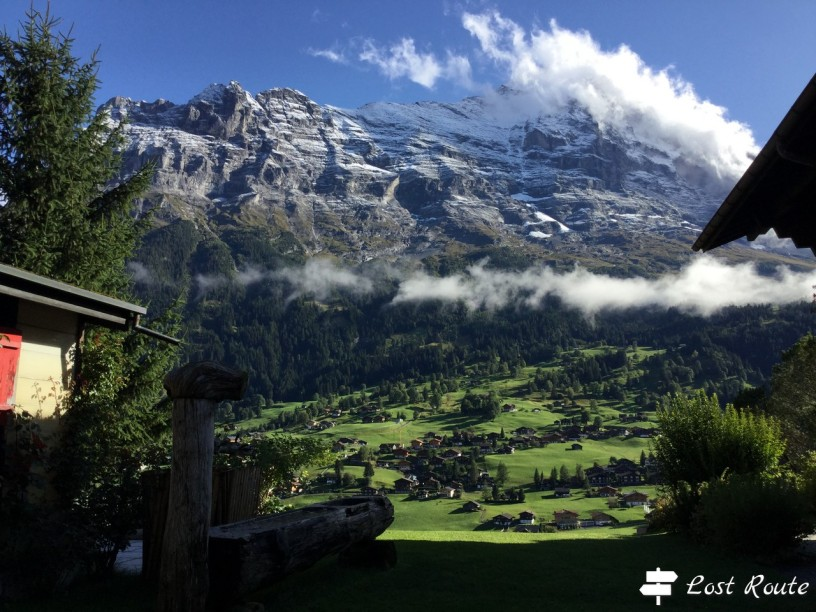 La vallata sotto all'Eiger, 3967 mt, Grindelwald, Berna, Grand Tour of Switzerland #2