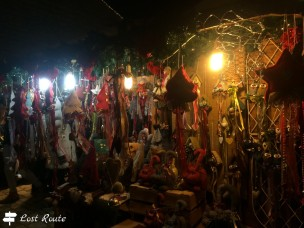 Oggettistica di Natale, Mercatino di Montepulciano, Siena, Toscana
