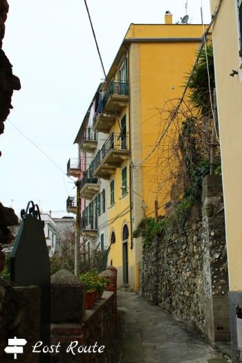 Per le vie di Corniglia, Cinque Terre, Liguria
