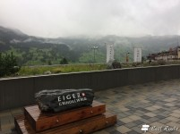 Terrazza con vista sull'Eiger, Grindelwald, Berna, Grand Tour of Switzerland