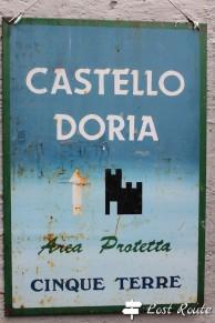 Castello Doria, area protetta a Vernazza, Cinque Terre, Liguria