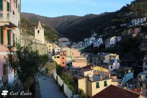 Centro cittadino, dettagli, Riomaggiore, Cinque Terre, Liguria