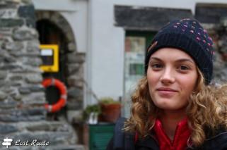 Chiara in Piazza Marconi a Vernazza, Cinque Terre, Liguria